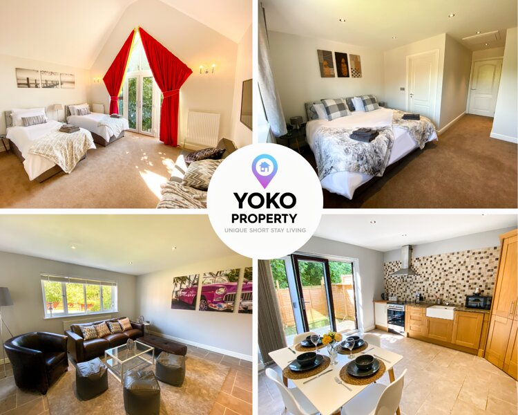 Spacious House near CMK with FREE Parking, Netflix & Garden by Yoko Property, holiday rental in Buckingham