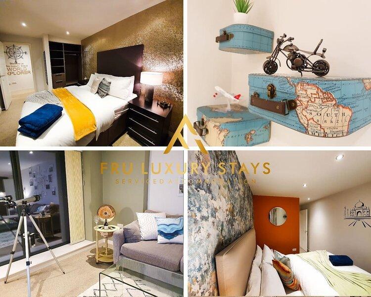 Inviting 2-Bed Apartment in Manchester, location de vacances à Audenshaw