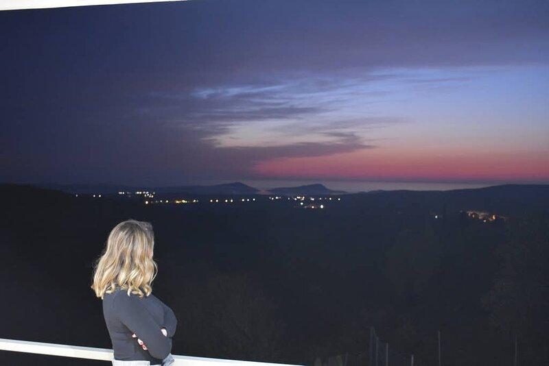 Luxury Modern Villa - Stunning Panorama, location de vacances à Chora