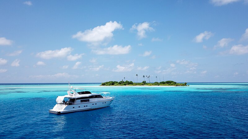 Fascination Maldives Luxury Falcon yacht, aluguéis de temporada em Thulusdhoo Island