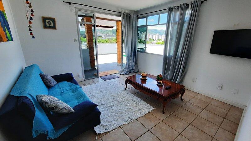 Cobertura com Ótima Vista e Localização em Floripa, location de vacances à Sao Jose