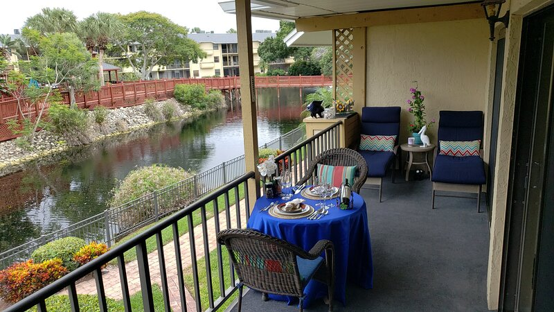 Enjoy lunch or dinner on your private lanai