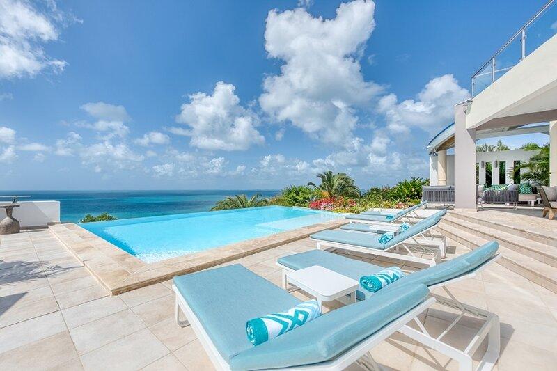 Villa Ocean 5 | Ocean View - Located in Tropical Happy Bay with Private Pool, aluguéis de temporada em La Savane