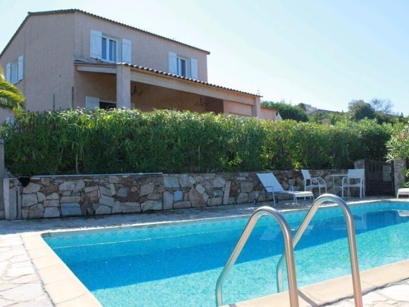 PORTICCIO - Très jolie villa avec piscine V-ALZONE 80, casa vacanza a Pila-Canale