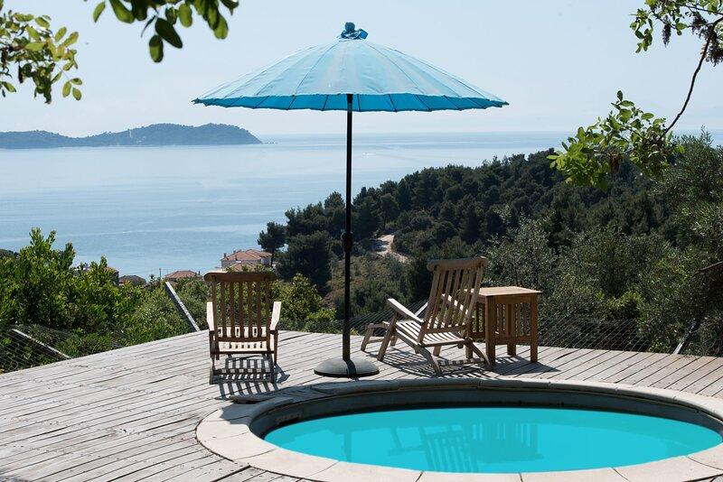 Pelion Aqua Vista - Seaside Villa with Private Pool, holiday rental in Potistika