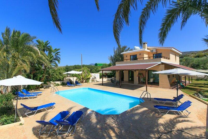 Villa Noni: Large Private Pool, A/C, WiFi, holiday rental in Steni