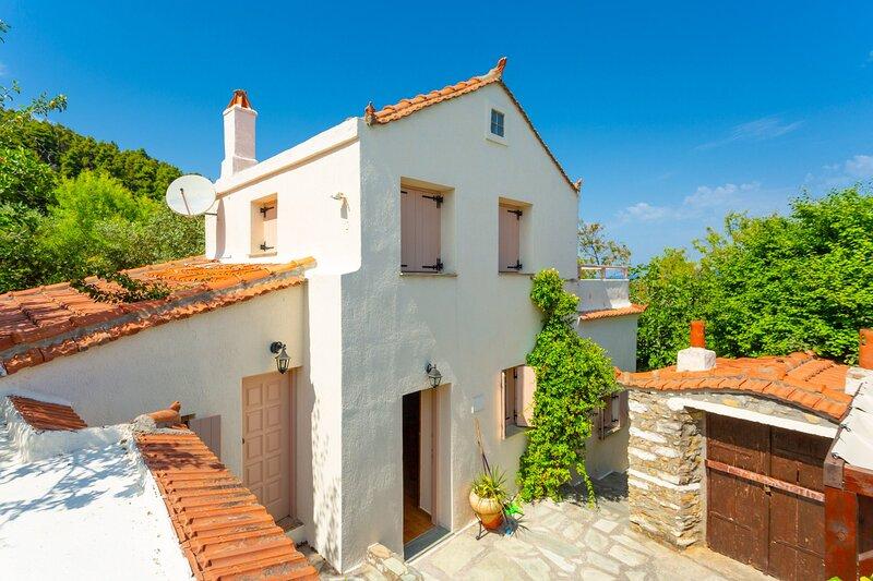 Villa Antigoni: Large Private Pool, alquiler de vacaciones en Skopelos