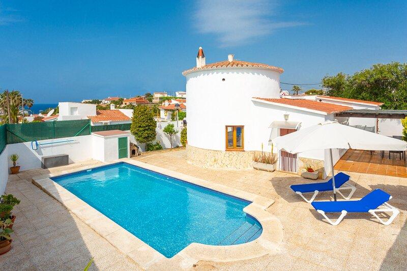 Villa Maria: Large Private Pool, A/C, WiFi, location de vacances à Son Vitamina