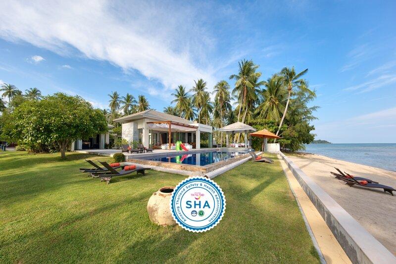 65% OFF La Lagune Modern Beachfront Retreat w/ Tennis Court, aluguéis de temporada em Na Mueang