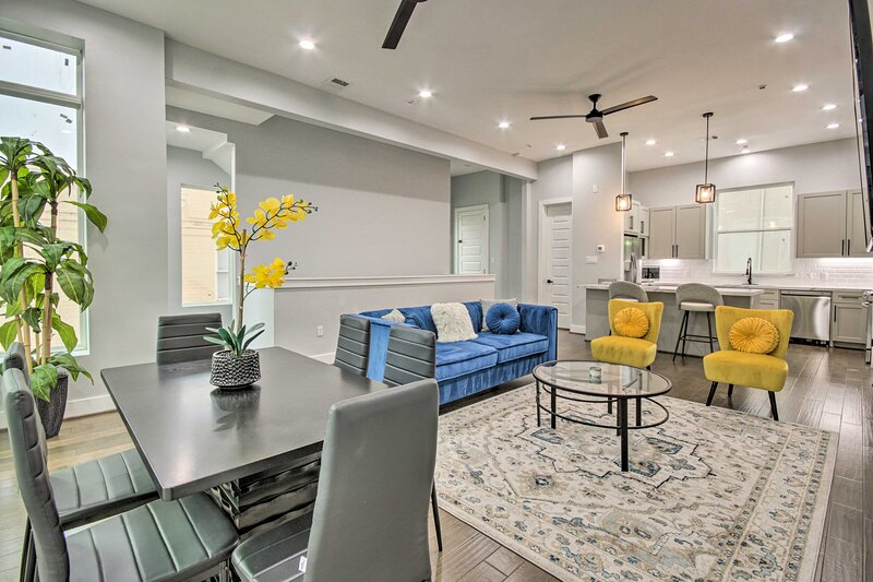 Houston Vacation Rental | 3BR | 3.5BA | 3,200 Sq Ft | 4 Stories