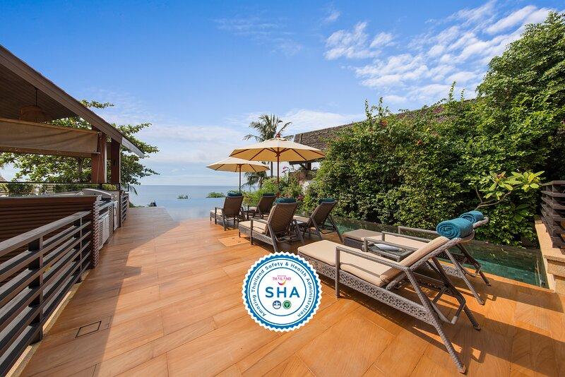 40% OFF | Baan Hinyai Luxe Beachfront Retreat, Infinity Pool, holiday rental in Maret