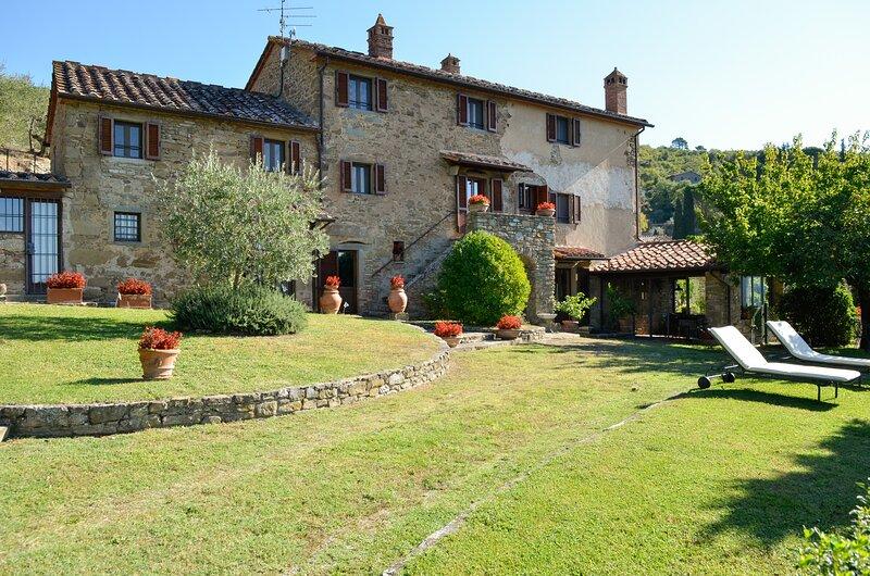 Villa Eugenio Monaldi, vacation rental in Piazzano