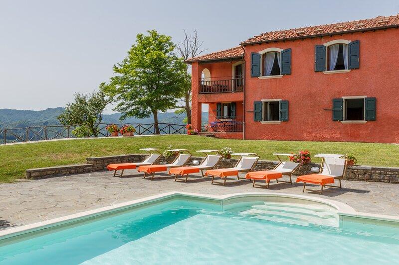 Villa Rosetta, holiday rental in Palazzuolo Sul Senio