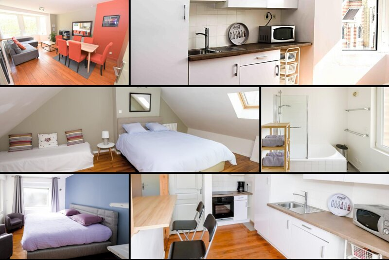 Appartement 6 personnes Dunkerque plage - Wifi et parking gratuits, holiday rental in Gravelines