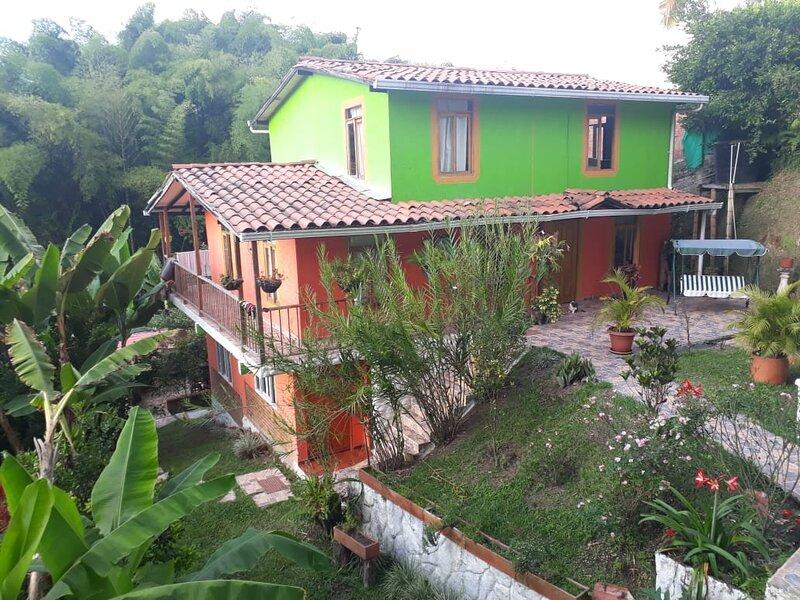 Alojamiento Campestre En Ambiente Natural, holiday rental in Pueblo Tapao