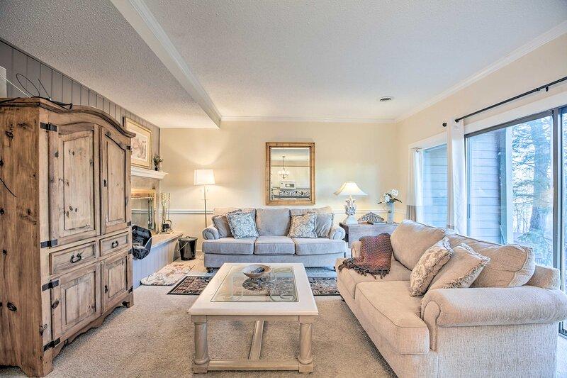 Wintergreen Resort Vacation Rental | 2BR | 2BA | 1 Story | 855 Sq Ft | 1st Floor