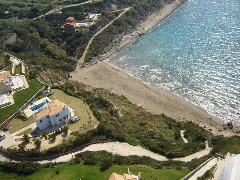 Villa Marina, Beach Front, location de vacances à Agia Pelagia