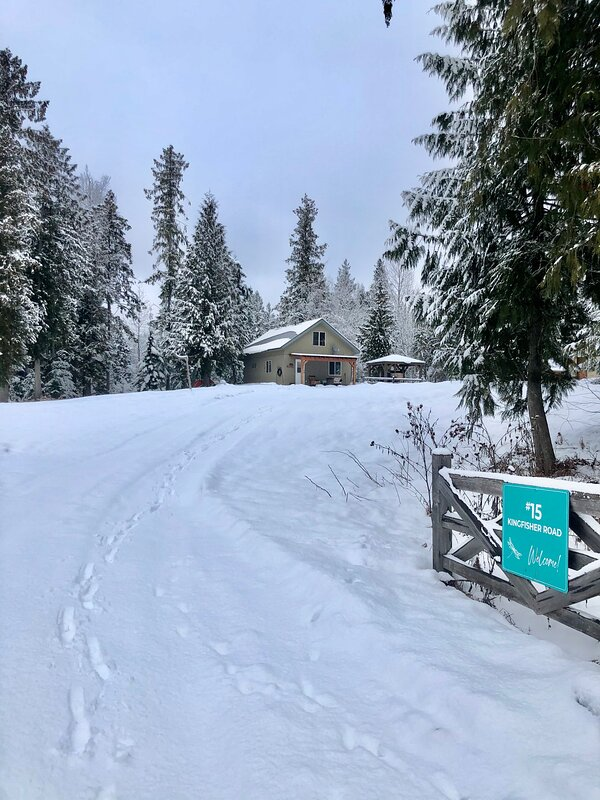 Sled In Sled Out Cabin, holiday rental in Enderby