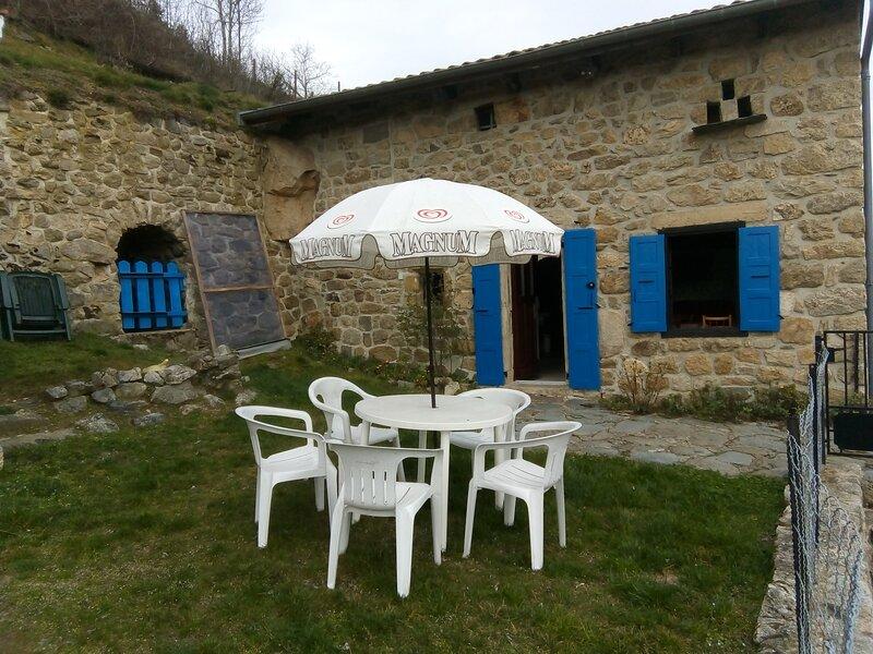 maison individuelle , cour fermée, VUE IMPRENABLE, holiday rental in Le Chambon sur Lignon