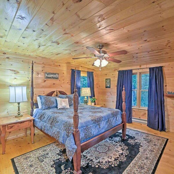 ROCKING M RETREAT, holiday rental in Brasstown