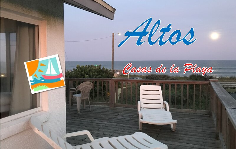 Casas de la Playa Altos Spectacular Ocean View!, location de vacances à Flagler Beach