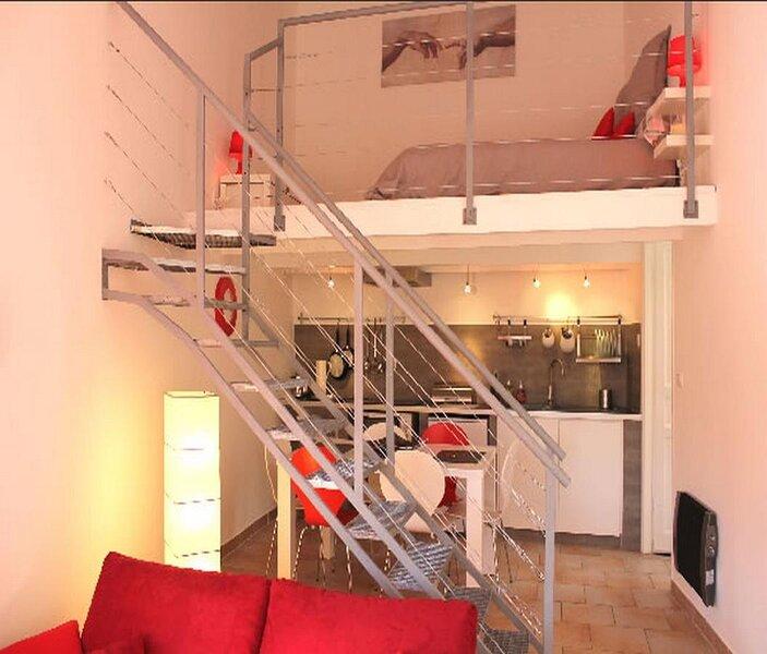 Gîte Europa - Gîte duplex au cœur du village du Mas et de la vallée de l'Estéron, holiday rental in Brianconnet