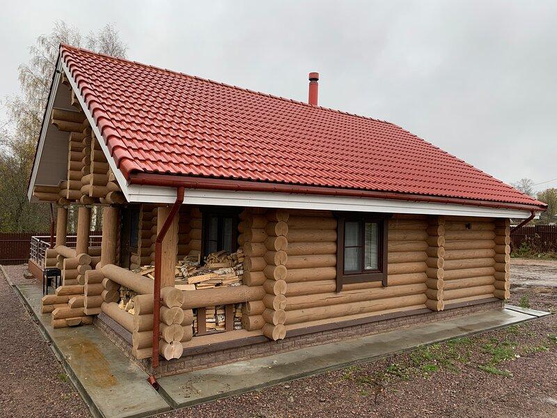 Загородный гостевой дом с баней на дровах SNHAUS, vacation rental in Korobitsyno