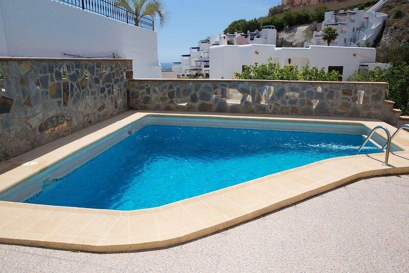 Casa Mezquita, detached 2 bedroom, 2 bathroom, private pool, roof terrace, holiday rental in Playa Macenas