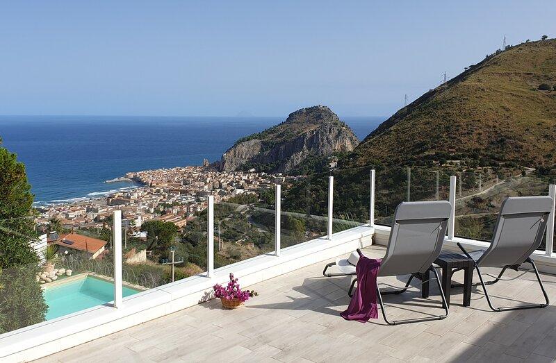 Villa la Vista - up to 10 pax, holiday rental in Gibilmanna