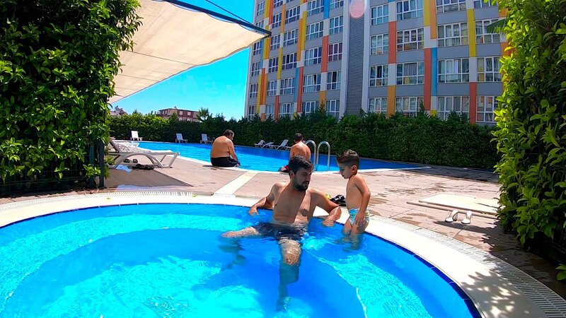 Pools, sauna, Gym, security, airport, location de vacances à Antalya