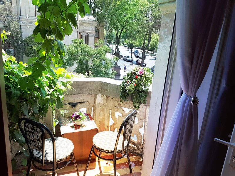 CHARMING FLAT in TOP CENTRAL LOCATION / FREE* TRANSFER, holiday rental in Mardakan