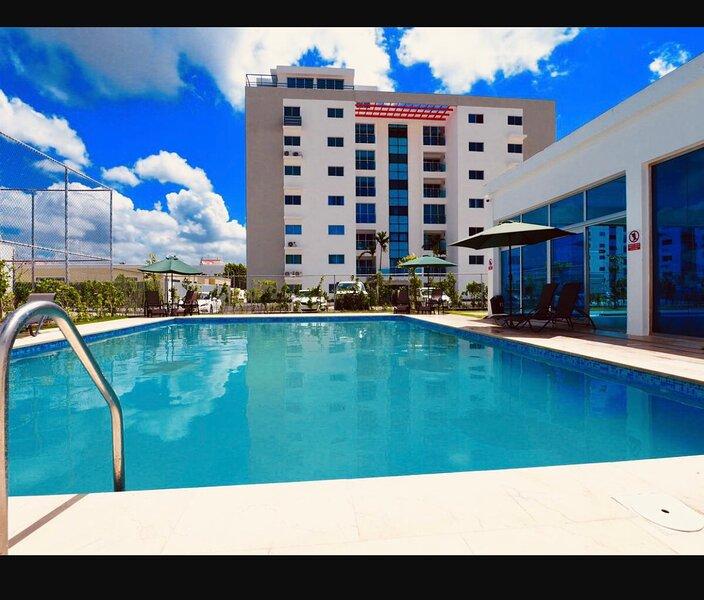 Apartamento tipo resort disponible para alquiler temporal, alquiler de vacaciones en Salcedo