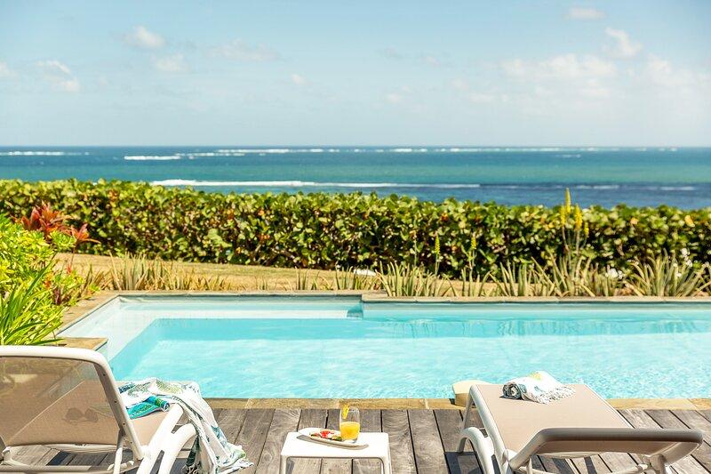 Villa Azura | Vue Mer | Haut-de-gamme | Piscine | 6 personnes, alquiler de vacaciones en Le Vauclin