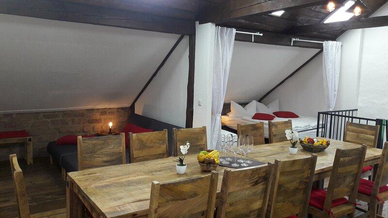 Feriendomizil 12 - FeWo 3 (LOFT) Neuleiningen/Pfalz, vacation rental in Kaiserslautern