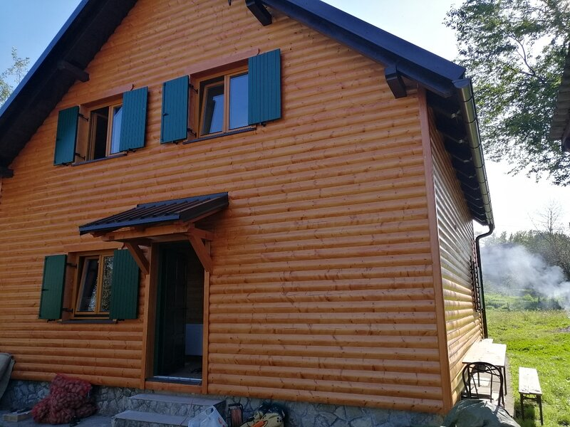 Laura - wooden house: H(4+2) - Dreznica, vacation rental in Ogulin