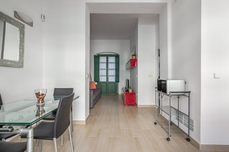 Triana first floor at 2mn walk from plaza de Cuba, holiday rental in Gelves