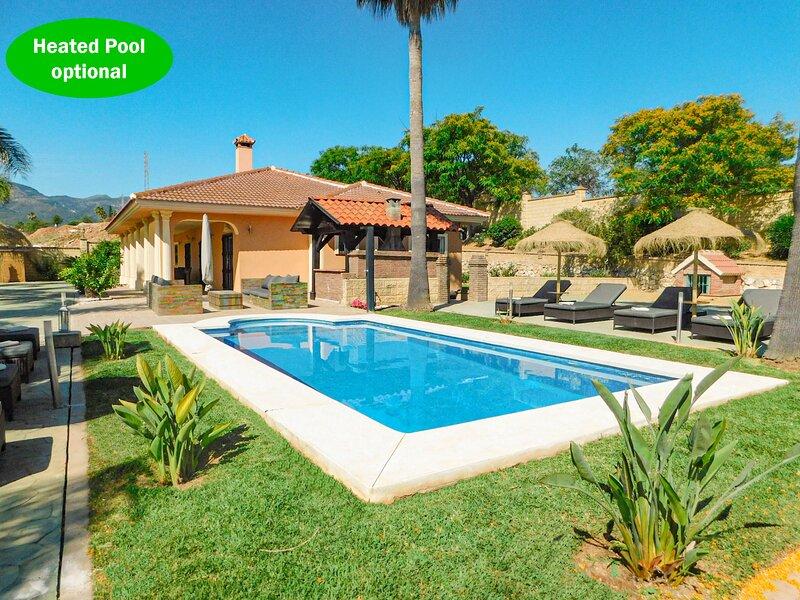 Rancho Las Palmeras, holiday rental in Estacion de Cartama