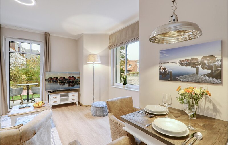 Nice apartment in Ostseebad Boltenhagen with Sauna, WiFi and 1 Bedrooms (DMK804), holiday rental in Tarnewitz