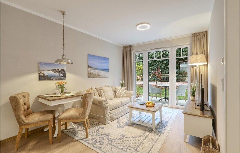 Amazing apartment in Ostseebad Boltenhagen with Sauna, WiFi and 1 Bedrooms (DMK8, holiday rental in Tarnewitz