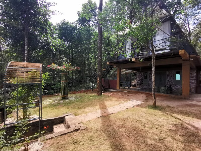 Wild root stay- Orchid Cottage, vakantiewoning in Lakkidi