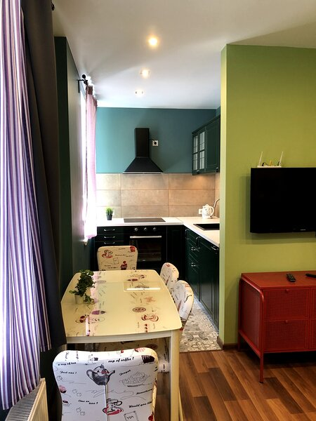 Green and quiet city center, holiday rental in Ikskile