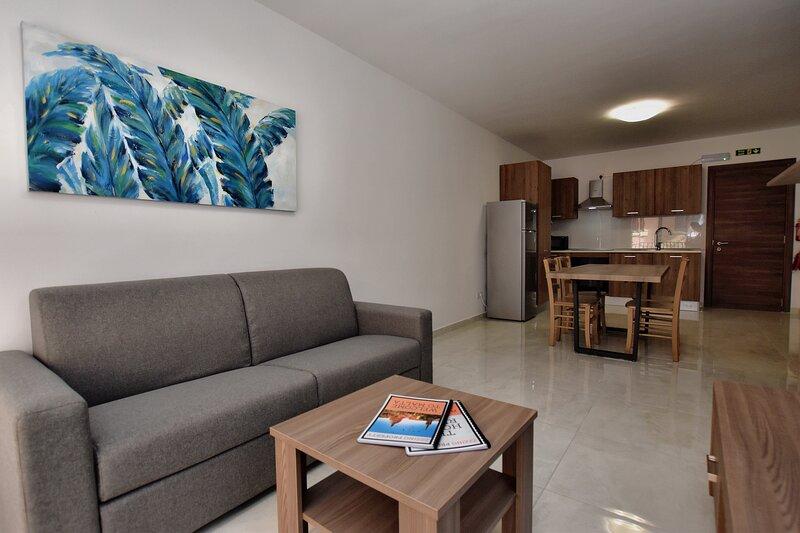 Msida - New 1 Bedroom Apartment, Ferienwohnung in Marsa