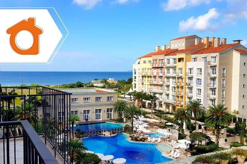 Studio luxo vista piscina em Resort Jurere ILC1206, casa vacanza a Governador Celso Ramos