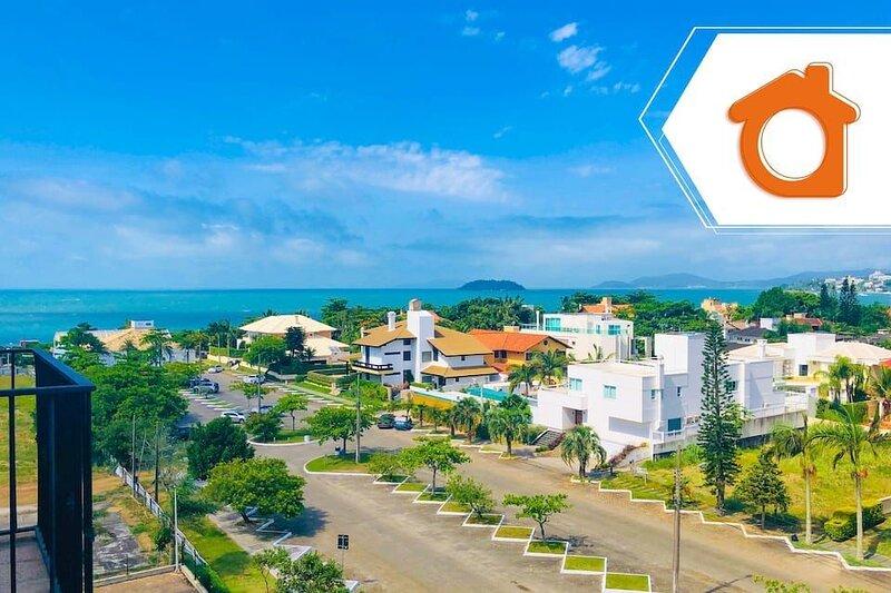 Studio em resort 40m² vista ótima Jurere ILC2203, alquiler vacacional en Governador Celso Ramos