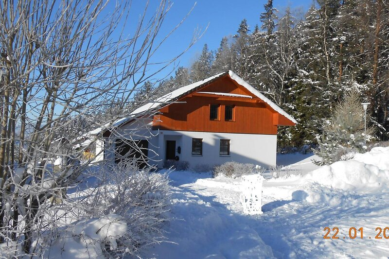 Charming 3-Bed Villa in Lipno nad Vltavou, holiday rental in Altenberg bei Linz
