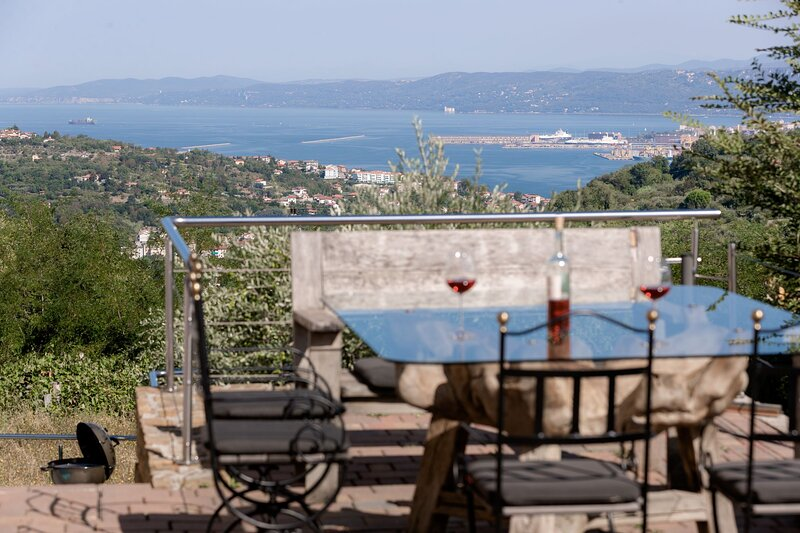 Villa del Mare, holiday rental in Crni Kal