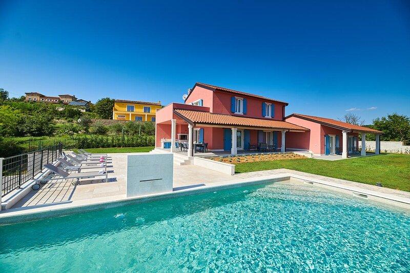Four bedroom house Oprtalj, Central Istria - Središnja Istra (K-18124), holiday rental in Vizintini Vrhi