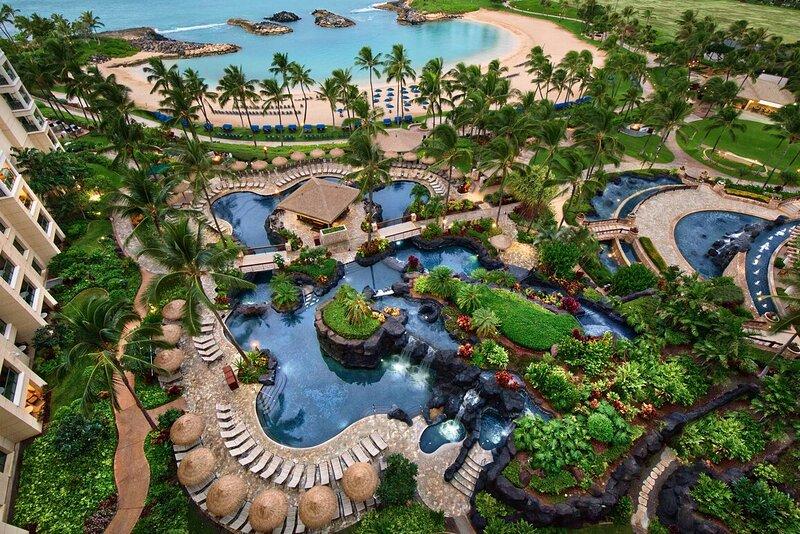 Marriott Ko Olina Beach club – semesterbostad i Oahu