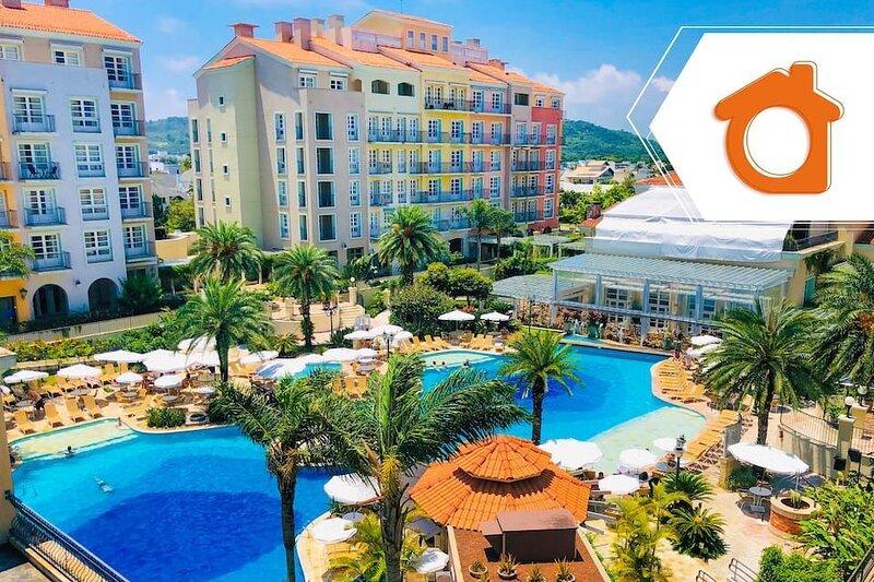 Studio com melhor vista de resort Jurerê ILC3412, alquiler vacacional en Governador Celso Ramos