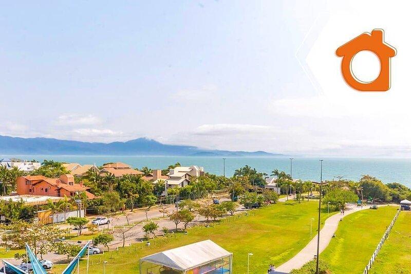 Studio melhor vista mar resort de Jurerê ILC3413, alquiler vacacional en Governador Celso Ramos